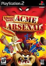 Hra pre Playstation 2 Looney Tunes: Acme Arsenal