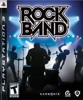 Hra pre Playstation 3 Rock Band + univerzálna bezdrôtová gitara