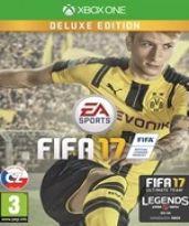 hra pre Xbox One FIFA 17 CZ (Deluxe Edition)