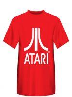 oblečení pro hráče Tričko Atari - Classic logo, červené (velikost XL)