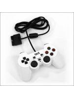 Príslušenstvo pre Playstation 2 Gamepad Shock Controller Under Control (biely)