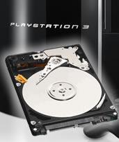 Príslušenstvo pre Playstation 3 zrušené 500GB interný harddisk do PlayStation 3