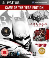 Hra pre Playstation 3 Batman: Arkham City (Game of the Year Edition)