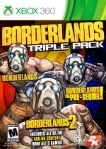 Hra pre Xbox 360 Borderlands Triple Pack