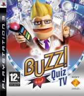 Hra pre Playstation 3 Buzz!: Quiz TV + tlačidlá