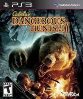 Hra pre Playstation 3 Cabelas Dangerous Hunts 2011