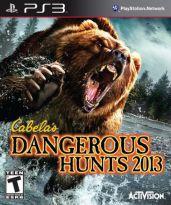 Hra pre Playstation 3 Cabelas Dangerous Hunts 2013