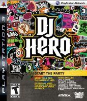 Hra pre Playstation 3 DJ Hero + gramofón (Renegade Edition)