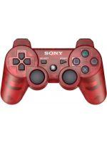 Príslušenstvo pre Playstation 3 gamepad DualShock 3 Controller (červený - priehľadný)