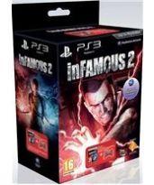 Hra pre Playstation 3 Infamous 2 + DualShock 3 (červený)