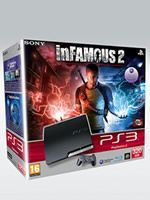Príslušenstvo pre Playstation 3 konzola Sony PlayStation 3 Slim (320GB) + Infamous 2