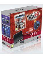 Príslušenstvo pre Playstation 3 Konzola Sony PlayStation 3 Slim (320GB) + MOVE Starter Pack + Virtua tennis 4