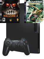 Príslušenstvo pre Playstation 3 konzola Sony PlayStation 3 Slim (250GB) + Killzone 2 + Uncharted