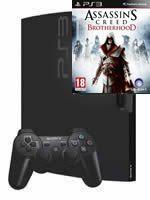 Príslušenstvo pre Playstation 3 konzola Sony PlayStation 3 Slim (320GB) + Assassins Creed: Brotherhood