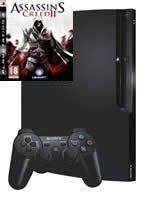 Pr�slu�enstvo pre Playstation 3 konzola Sony PlayStation 3 Slim (250GB) + Assassins Creed II