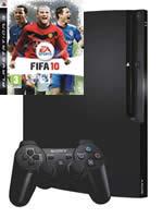 Pr�slu�enstvo pre Playstation 3 konzola Sony PlayStation 3 Slim (250GB) + FIFA 10