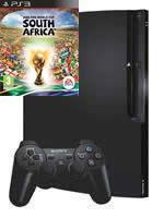 Príslušenstvo pre Playstation 3 konzola Sony PlayStation 3 Slim (250GB) + 2010 FIFA World Cup South Africa