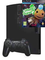 Príslušenstvo pre Playstation 3 konzola Sony PlayStation 3 Slim (320GB) + LittleBigPlanet 2