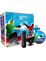 Príslušenstvo pre Playstation 3 konzola Sony PlayStation 3 Slim (320GB) + MOVE Starter Pack