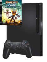 Príslušenstvo pre Playstation 3 konzola Sony PlayStation 3 Slim (250GB) + Ratchet & Clank Future: Crack in Time