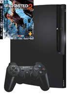 Príslušenstvo pre Playstation 3 konzola Sony PlayStation 3 Slim (250GB) + Uncharted 2
