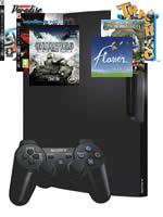 Príslušenstvo pre Playstation 3 konzola Sony PlayStation 3 Slim (250GB) + voucher na 6 hier