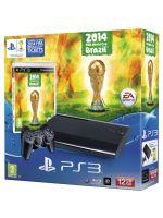 Príslušenstvo pre Playstation 3 Konzola Sony PlayStation 3 Super Slim (12GB) + FIFA World Cup 2014