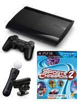 Príslušenstvo pre Playstation 3 Konzola Sony PlayStation 3 Super Slim (12GB) + Sports Champions 2 + MOVE Starter Pack