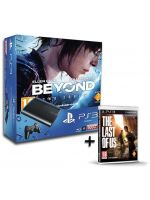 Príslušenstvo pre Playstation 3 Konzola Sony PlayStation 3 Super Slim (500GB) + Beyond: Two Souls CZ + The Last of Us CZ
