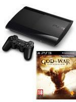 Pr�slu�enstvo pre Playstation 3 Konzola Sony PlayStation 3 Super Slim (500GB) + God of War: Ascension
