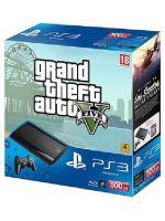 Pr�slu�enstvo pre Playstation 3 Konzole Sony PlayStation 3 Super Slim (500GB) + Grand Theft Auto V