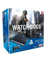 Príslušenstvo pre Playstation 3 Konzola Sony PlayStation 3 Super Slim (500GB) + Watch Dogs