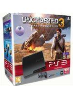 Príslušenstvo pre Playstation 3 Konzola Sony PlayStation 3 Slim (320GB) + Uncharted 3
