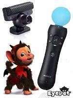 Príslušenstvo pre Playstation 3 Playstation Move balíček (pohybový ovládač + hra EyePet s kamerou)