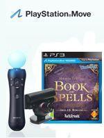 Príslušenstvo pre Playstation 3 Wonderbook: Book of Spells CZ + MOVE Starter Pack
