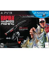 Hra pre Playstation 3 Rapala Pro Bass Fishing 2010 + prút