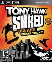 Hra pro Playstation 3 Tony Hawk: Shred + skateboard