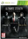 Hra pre Xbox 360 Ultimate Stealth Triple Pack (THIEF, Hitman, Deus Ex)