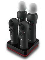 Príslušenstvo pre Playstation 3 Playstation Move - 4. miestna dobíjacia stanica (PEGA)