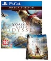 hra pre Playstation 4 Assassins Creed: Odyssey - Omega Edition + Osuška
