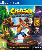hra pro Playstation 4 Crash Bandicoot N.Sane Trilogy