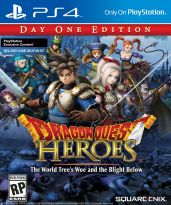 hra pro Playstation 4 Dragon Quest Heroes: The World Tree Woe and the Blight Below