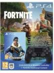 Gamepad DualShock 4 Controller v2 + Fortnite (čierny) + Playstation magazín č. 2 zdarma