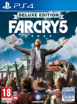hra pro Playstation 4 Far Cry 5 (Deluxe Edition) + Batoh