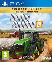 Farming Simulator 19 - Premium Edition (PS4) + darček plagát John Deere