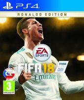 hra pro Playstation 4 FIFA 18 CZ (Ronaldo Edition)