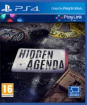 Hidden Agenda CZ (PS4)