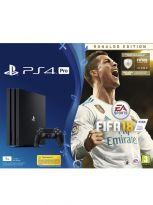 Příslušenství ke konzoli Playstation 4 Konzole PlayStation 4 Pro 1TB + FIFA 18 - Ronaldo Edition