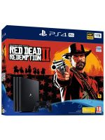 Príslušenstvo ku konzole Playstation 4 Konzola PlayStation 4 Pro 1TB + Red Dead Redemption 2