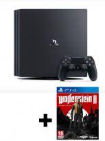 Príslušenstvo ku konzole Playstation 4 PlayStation 4 Pro 1TB + Wolfenstein II: The New Colossus